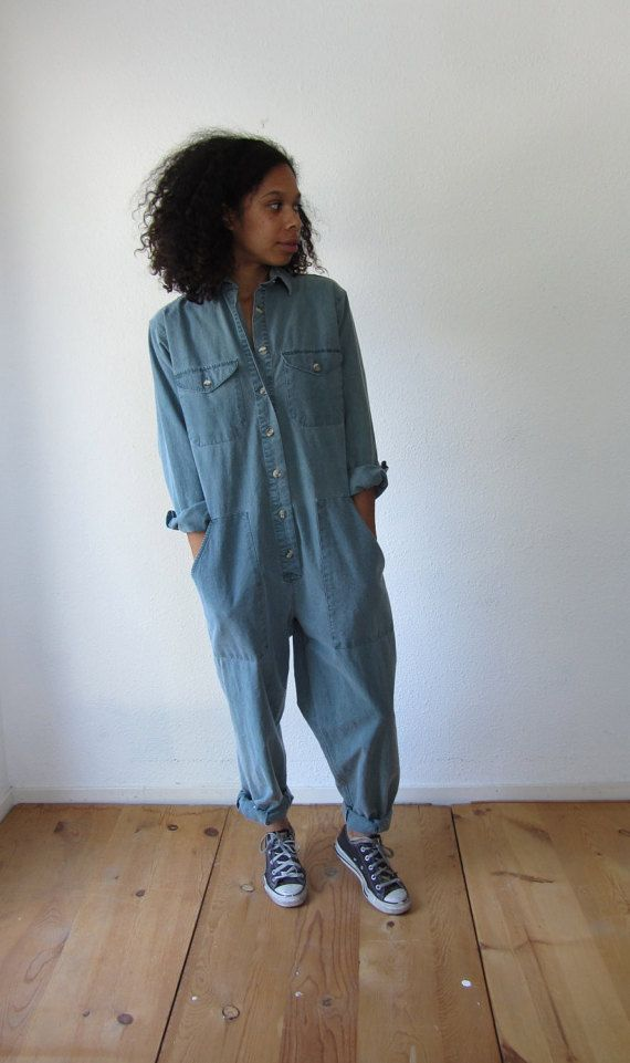 721eb253dfb Vintage womens jumpsuit coveralls by HotCocoaVintage on Etsy ...