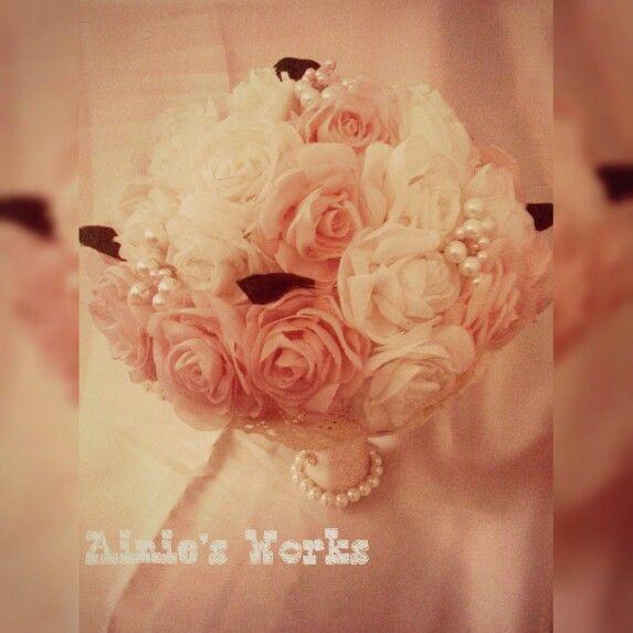 My First Wedding Bouquet, Love it ❤