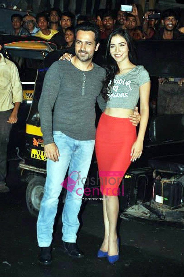 Humaima Charged Up With His Co star Emraan Hashmi