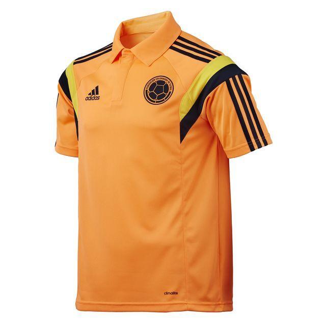 adidas Polo Selección Colombia - Orange | adidas Colombia