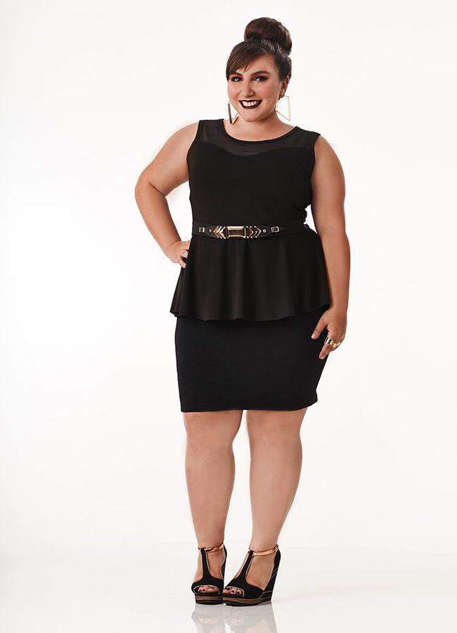 e6bc68ee3f moda plus size na marisa especial para você jovem 10 Vestidos Para  Baixinhas