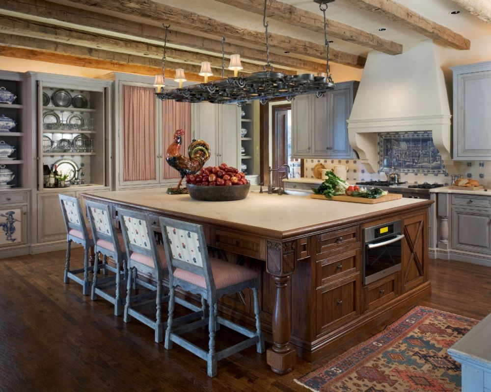 "Kitchen Design Wichita Ks Reclaimed Hand Hewn Oak Beamsthese Particular Beams Are 6"" X 6"
