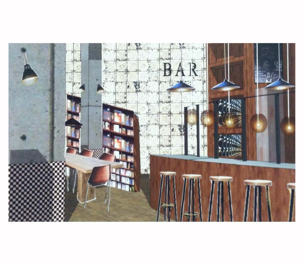 maquette  styling/interior  - studio AHvdK   café/restaurant Charelli Breda -   http://allehoekenvandekamer.wordpress.com/