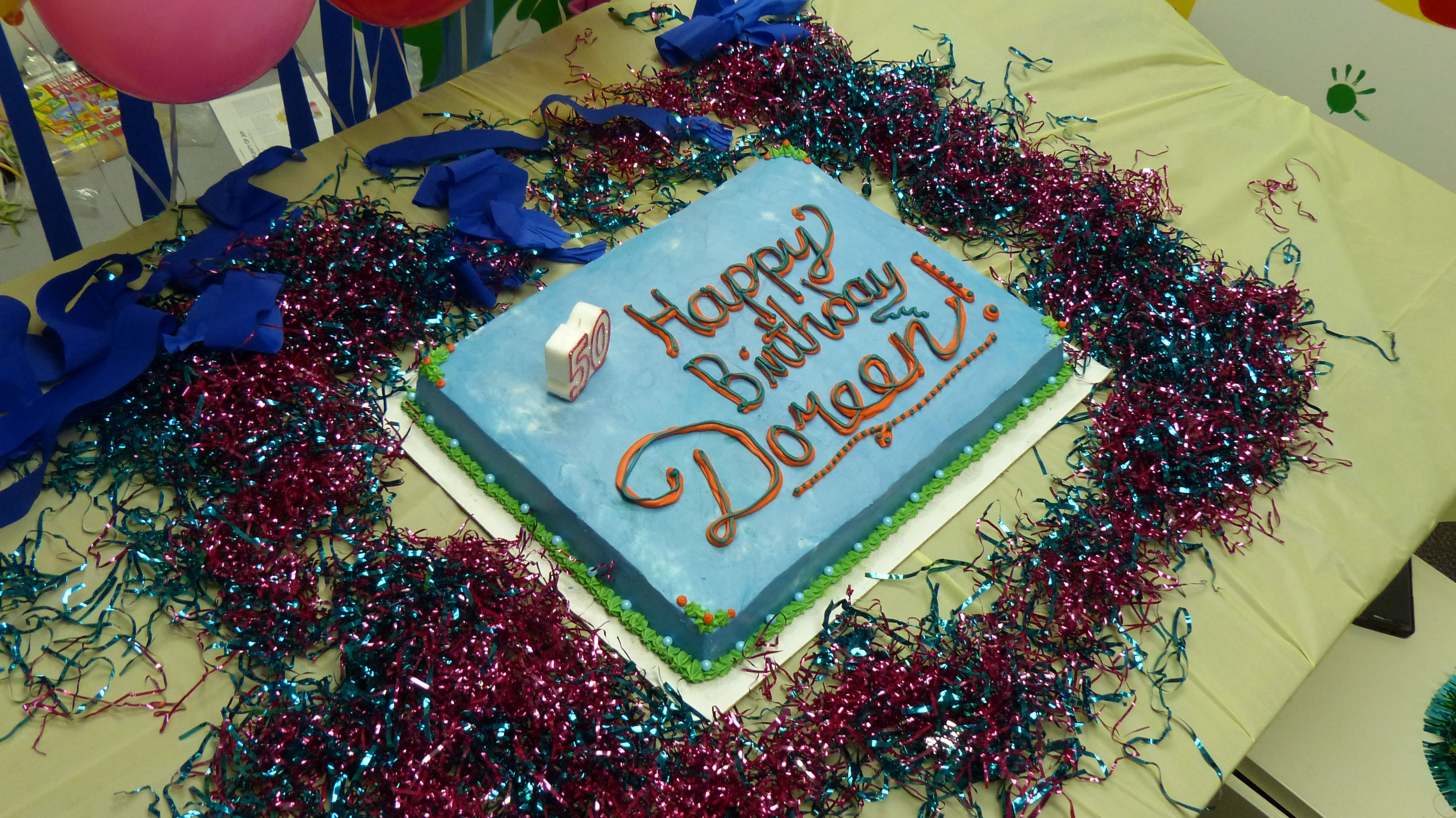Autism Birthday Cake