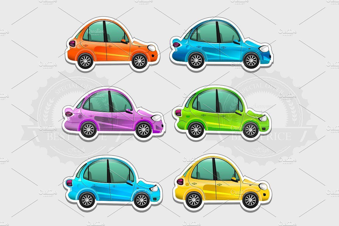 Toy Cars Stickers Toy Car Car Stickers Airplane Icon [ 772 x 1160 Pixel ]