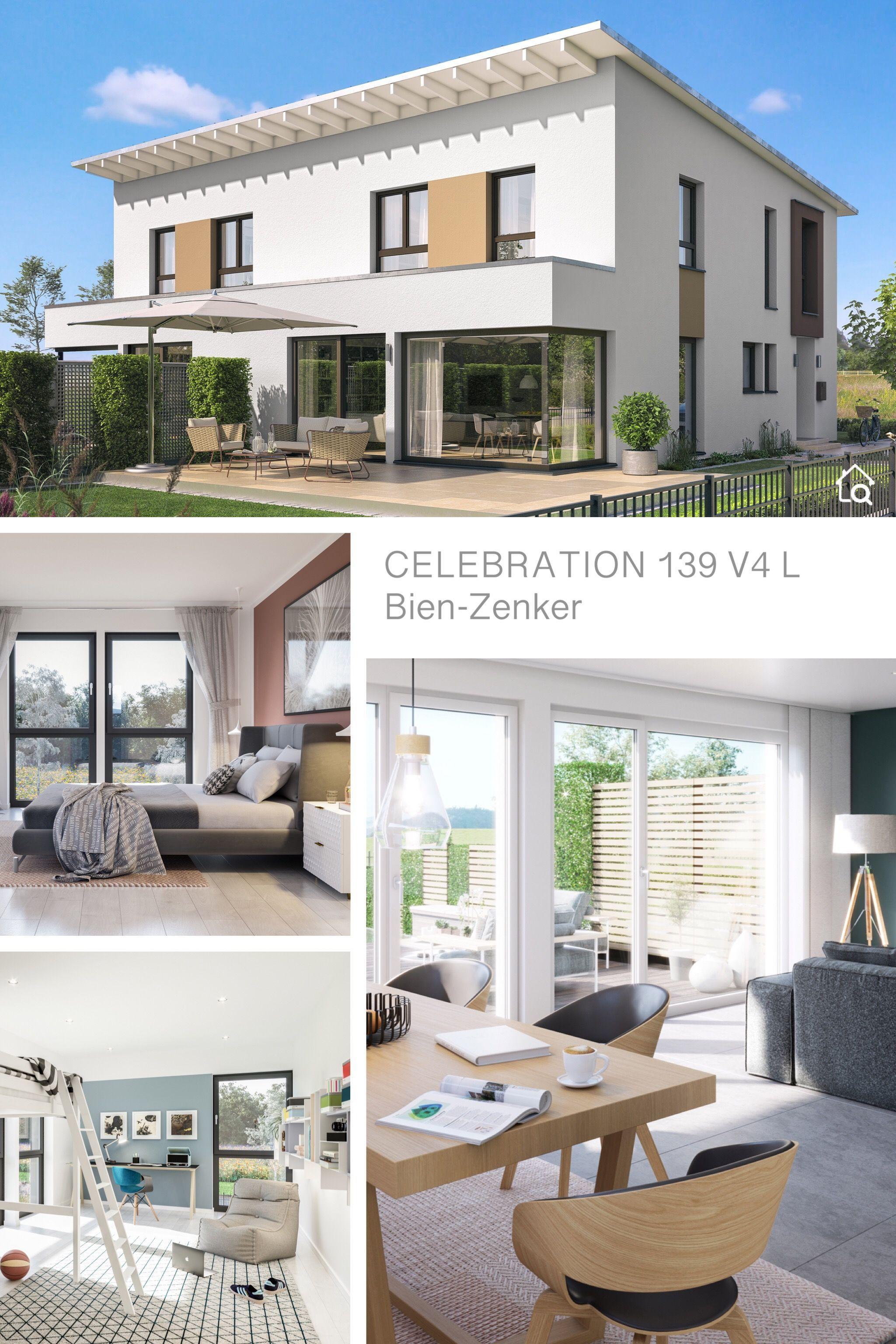 Modernes Doppelhaus mit Pultdach Architektur & 4 Zimmer