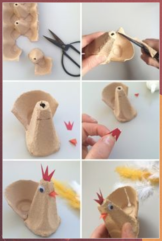 Photo of Easter Craft: Hueveras de gallina – Blog de pasatiempos