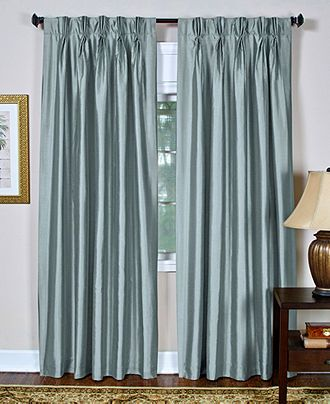 Modern Solid Window Curtains For Living Room Teal Curtain ...