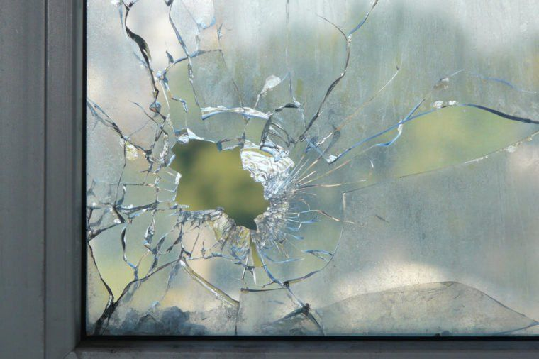 stop a windshield crack from spreading drill