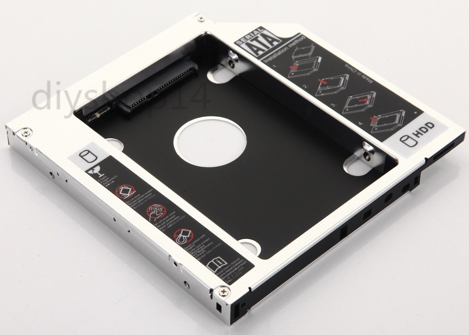 $6 59 - Sata 2Nd Hard Drive Hdd Ssd Caddy Bay For Dell Xps