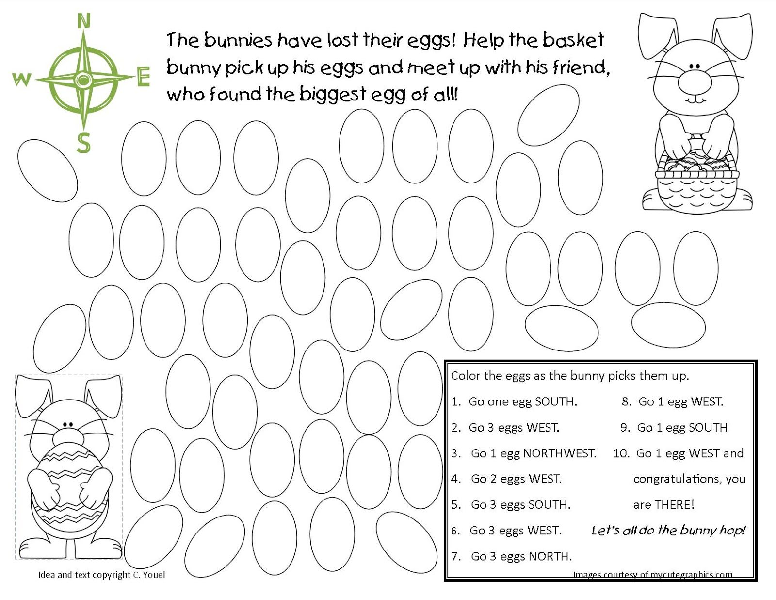 Egg Hunt Freebie