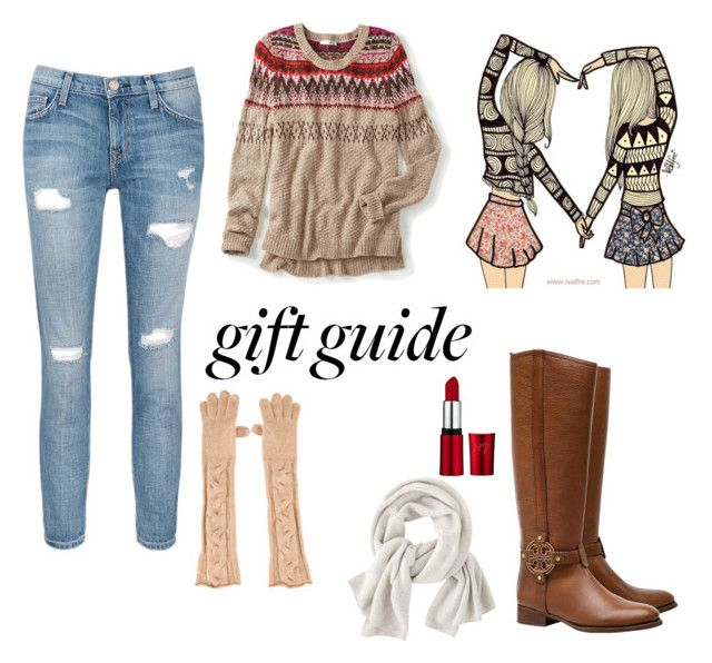 """""""BFF"""" by alexinalockie ❤ liked on Polyvore featuring Tory Burch, Current/Elliott, maurices, Wrap and Loro Piana"""