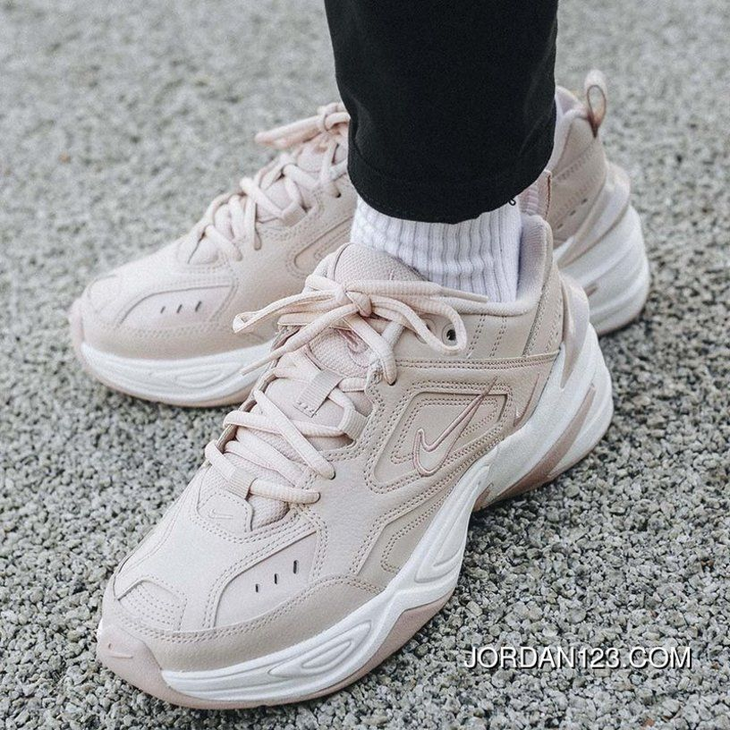 sneakers for cheap b27f2 4382c 1 1 Nike M2K Tekno AO3108-202 Women White Coral Pink Free Shipping