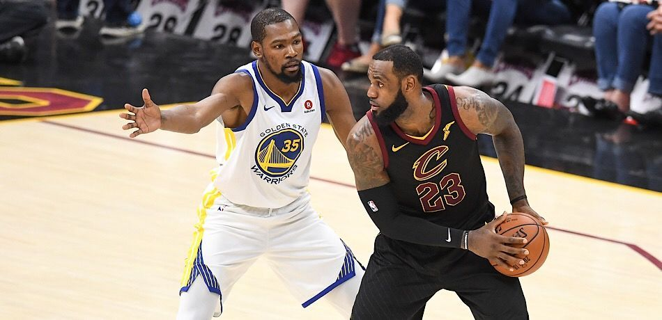 NBA Rumors  LeBron James Texted Kevin Durant About Joining Him On The Lakers 8d547055f