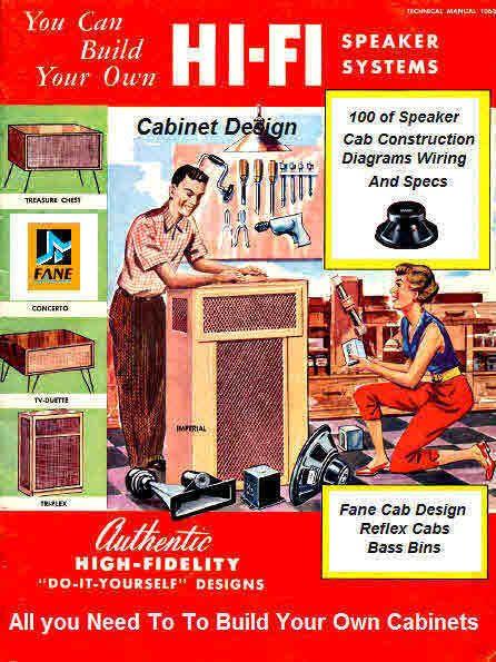 Speaker Cabinet Building Plans for Tech Doctors | Speakers, Tech ...