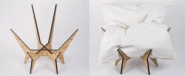 Nest Chair par le studio Allt | Artibazar blog mobilier