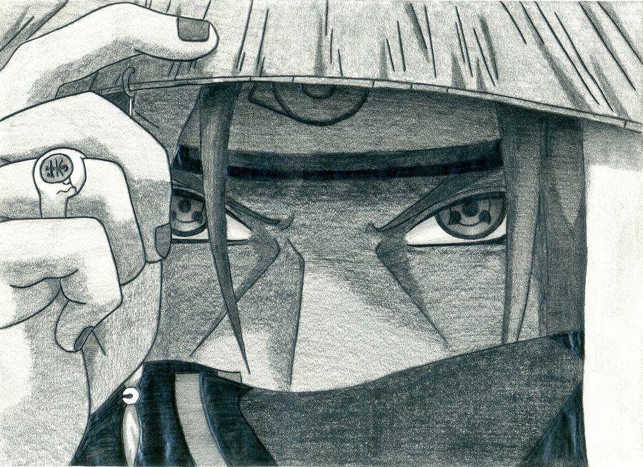 Amazing Itachi Drawing Naɾyts đɾawiigѕ Pinterest Itachi