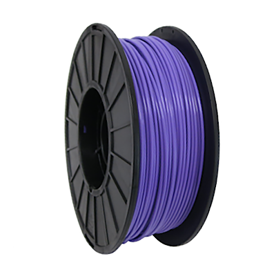 1kg of 2.85mm PRO Series PLA, aka Polylactic Acid, spooled and ready-to-use for 3D Printing.  PRO Series PLA filament is specially formulated for precision 3D printing and manufactured in the USA.