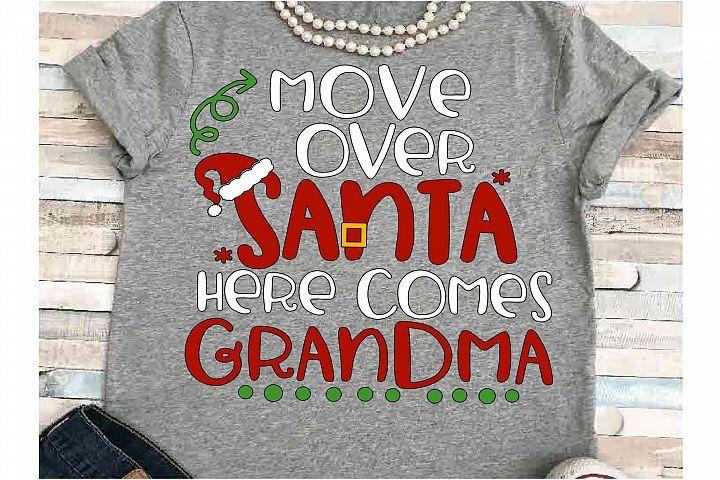 Download Grandma SVG DXF JPEG Silhouette Cameo Cricut Christmas ...