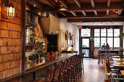 Catfish Restaurant \ Bar Restaurant bar - new blueprint brooklyn menu