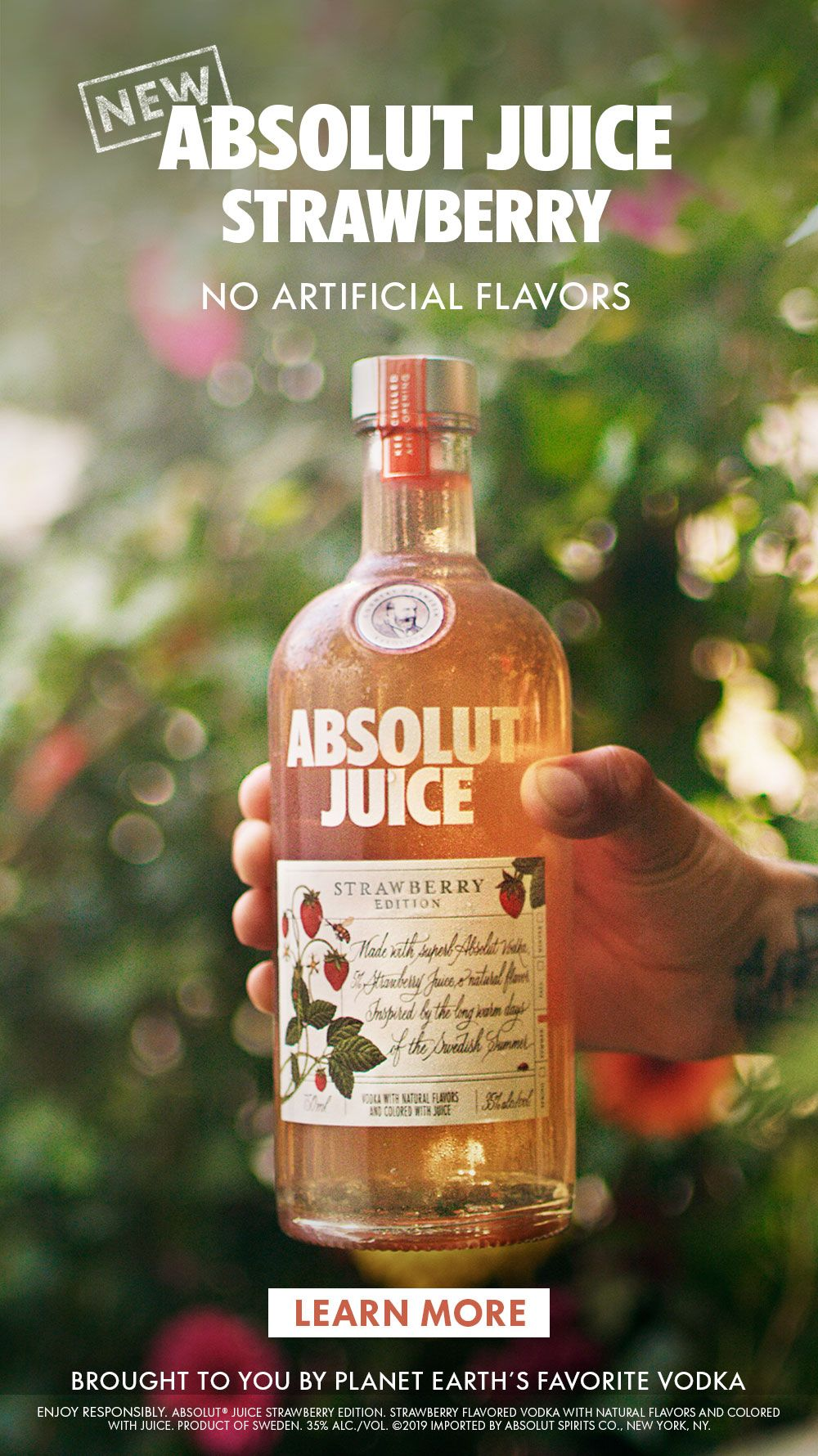 Strawberry fields but make them Happy Hour ready  Try new Absolut