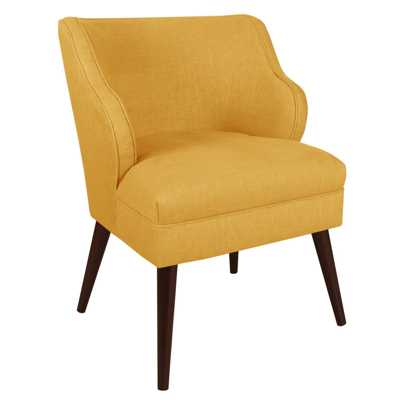 Skyline Furniture Modern Chair Linen French Yellow Modern Chairs