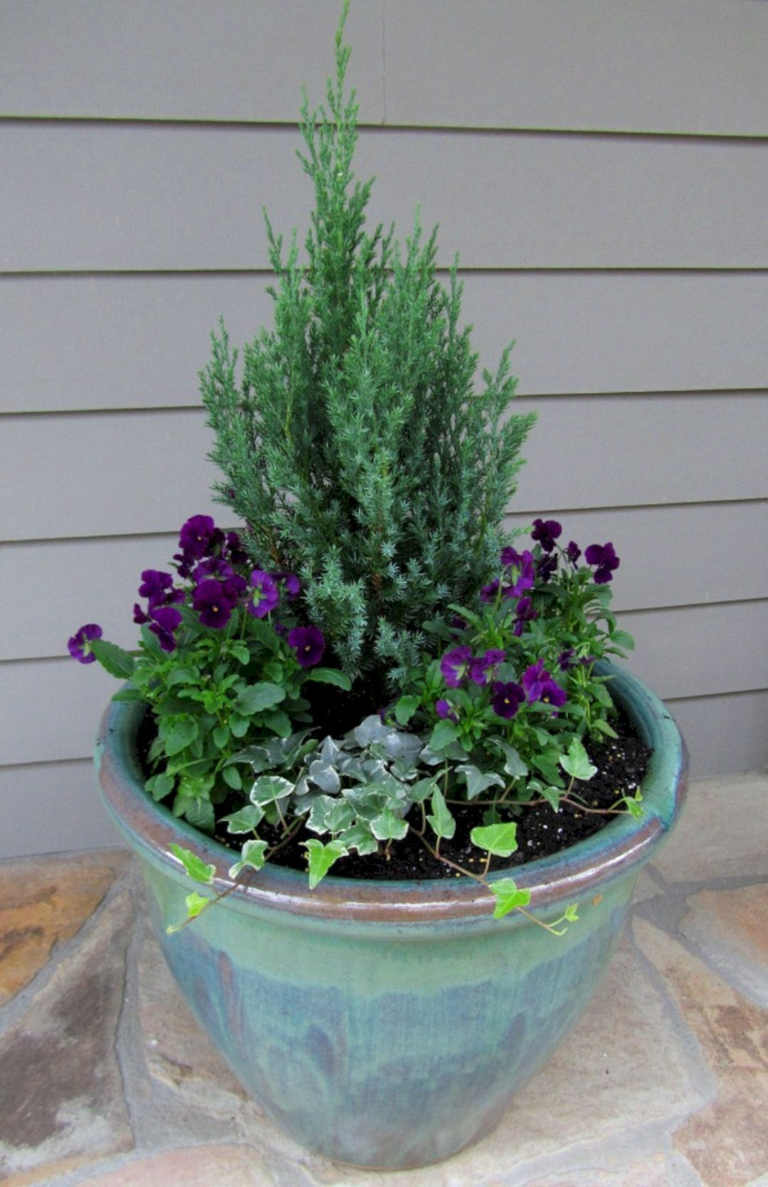 Winter Container Garden Idea is part of Winter container gardening, Container gardening flowers, Container garden design, Fall container gardens, Container herb garden, Home vegetable garden - Winter Container Garden Idea