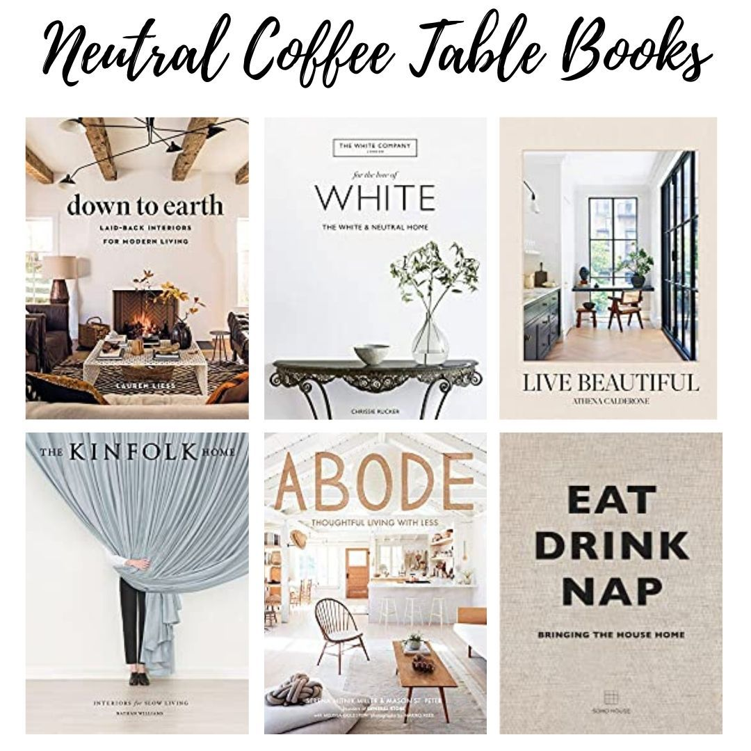 Neutral Coffee Table Books Under 50 Coffee Table Book Design Coffee Table Books Coffe Table Books [ 1080 x 1080 Pixel ]