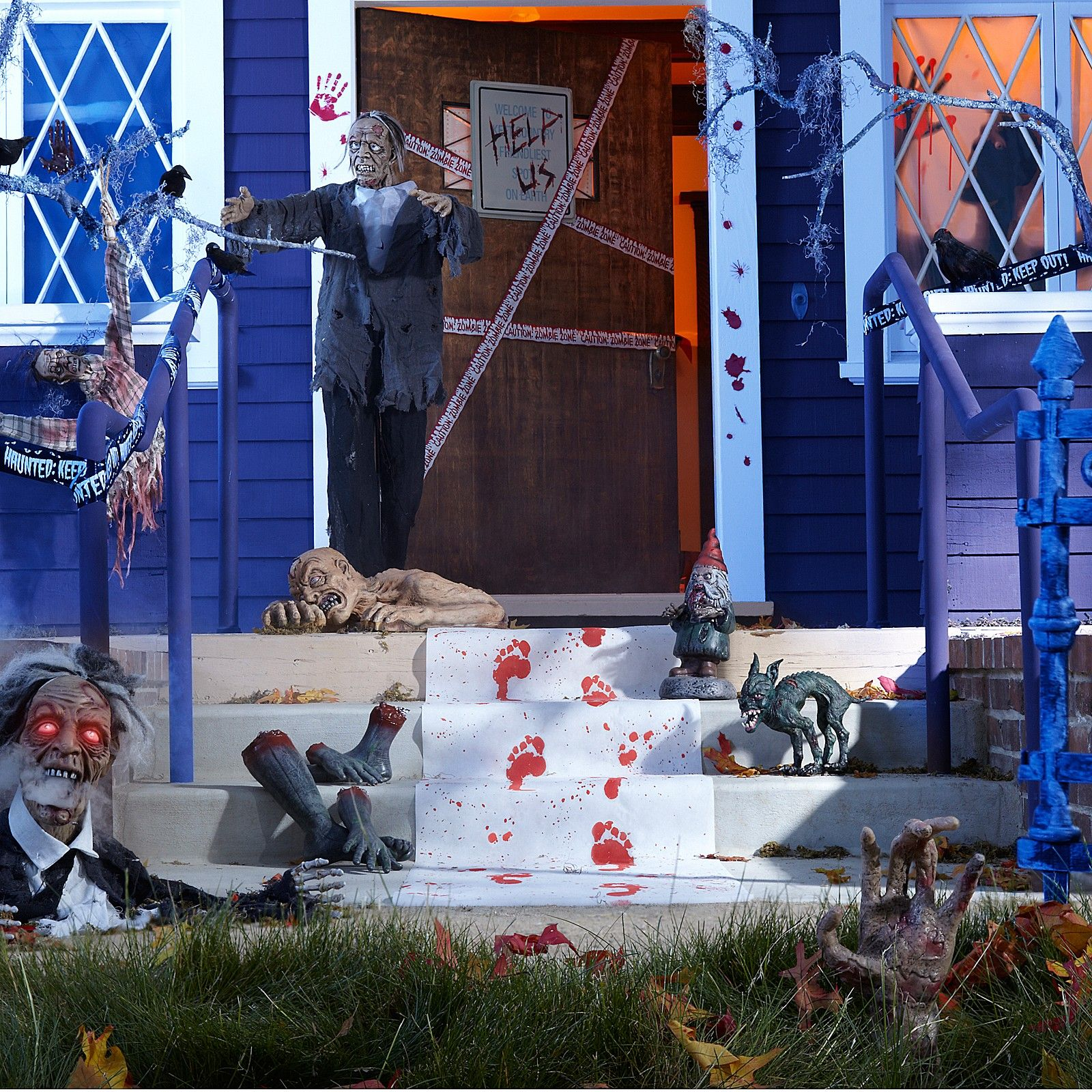 explore zombie halloween decorations and more - Zombie Halloween Decorations