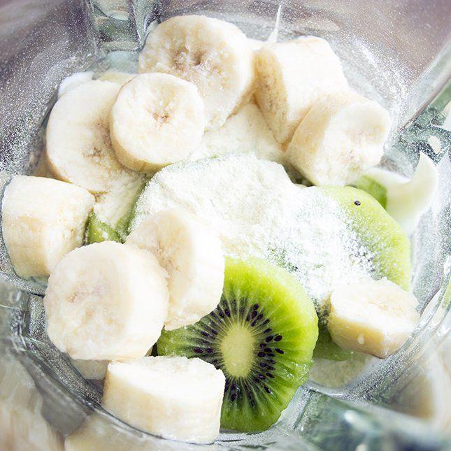 Kiwi Banana Protein Smoothie | Skinny Mom | Where Moms Get the Skinny on Healthy Living