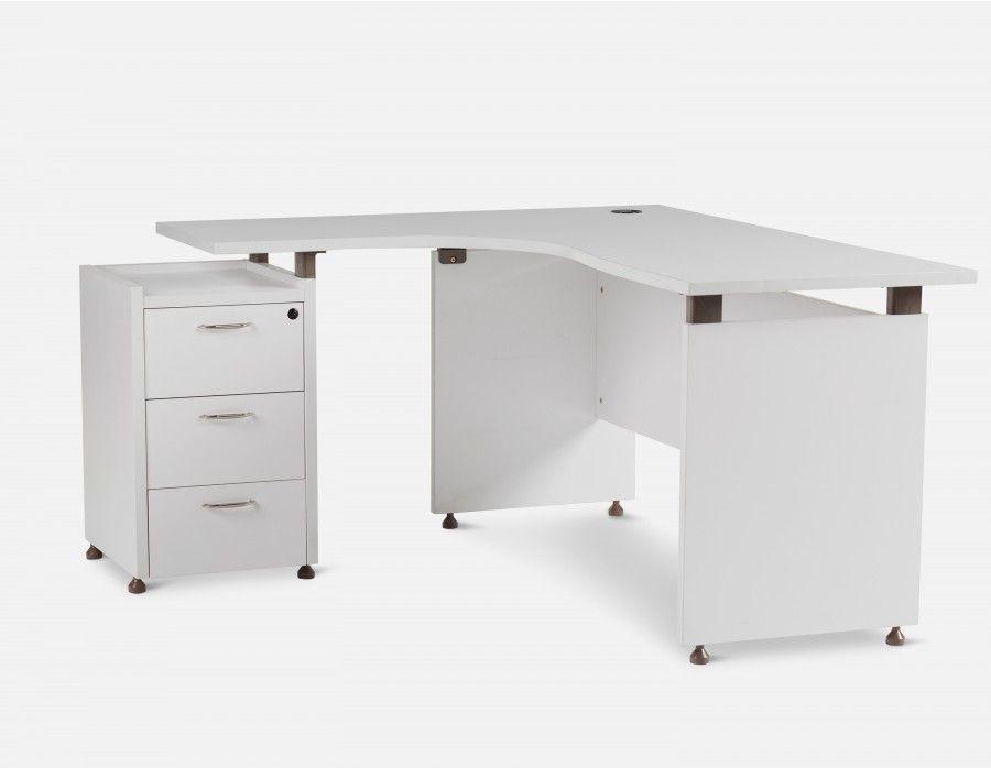 Junior bureau 140cm blanc mi manual de carpinteria pinterest