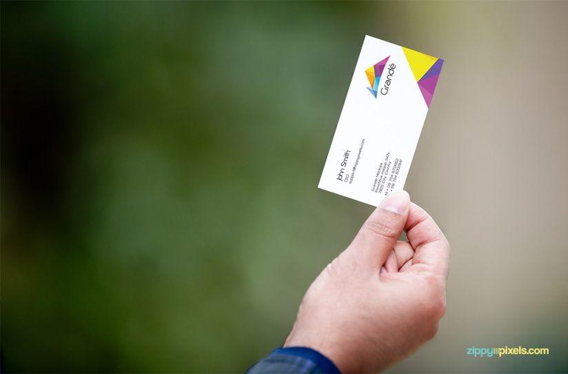 Photorealistic business card mockup set of 8 psd mockups mockup business professional business card mockups vol 1 8 psd mockups reheart Images