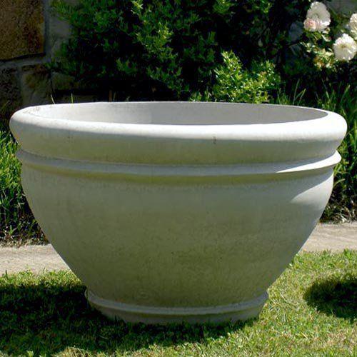 Round Cast Stone Riverbend Garden Planter   $496.99 @hayneedle