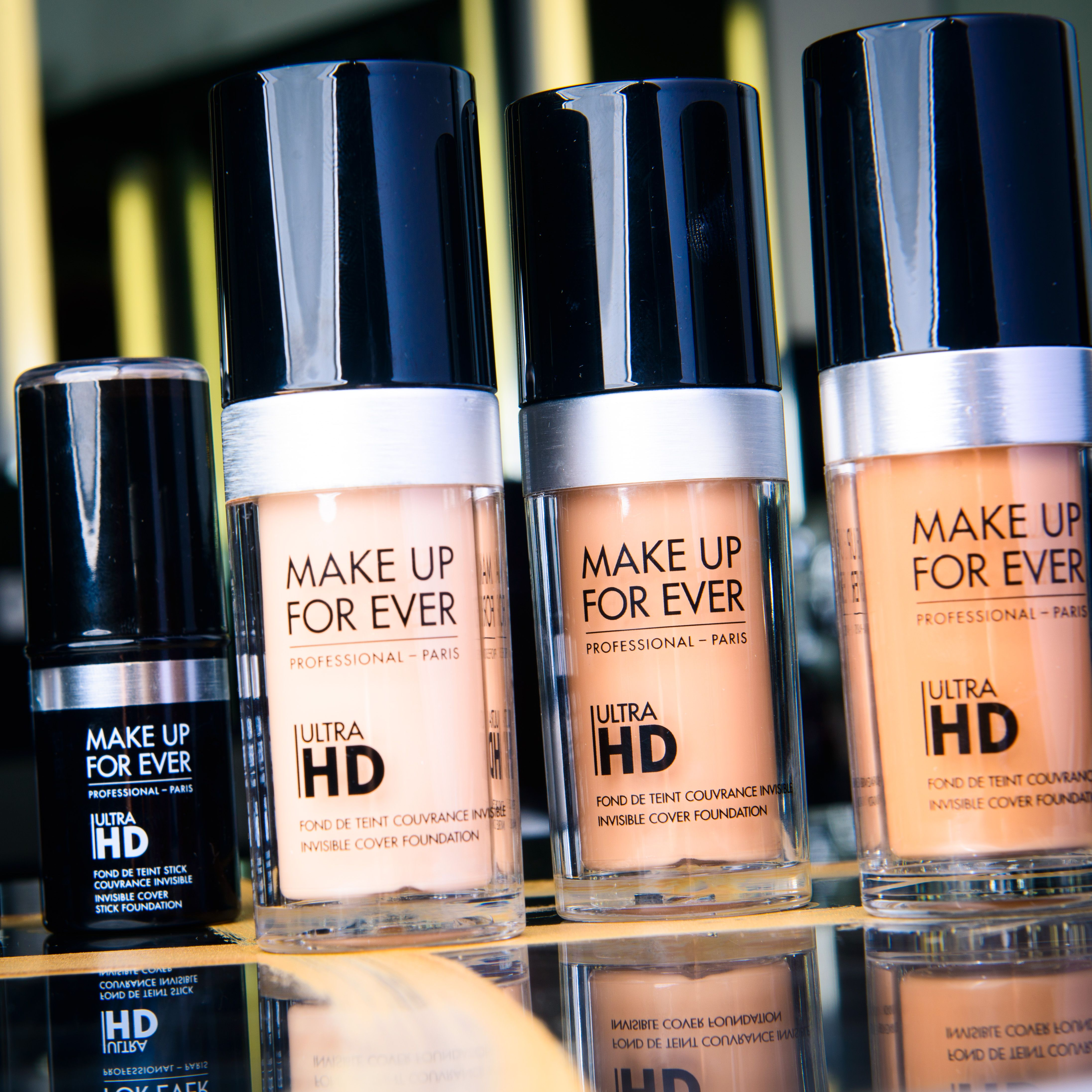 MAKE UP FOR EVER Ultra HD Foundation and Stick Foundation