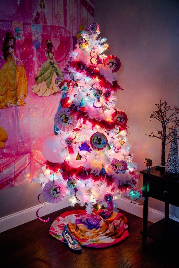 6 Pop Culture Christmas Trees For 2015 Disney Christmas Tree Disney Christmas Tree Theme Barbie Christmas Tree