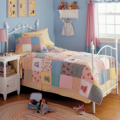 doll dress bedding from Land of Nod | Sway | Pinterest | Room ideas : doll dress quilt - Adamdwight.com