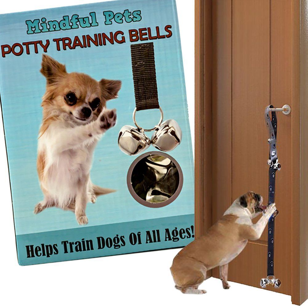 Potty Training Jingle Doorbells Best Housebreaking Tool For Dogs Potty Training Puppy Dogs And Puppies Dog Diapers