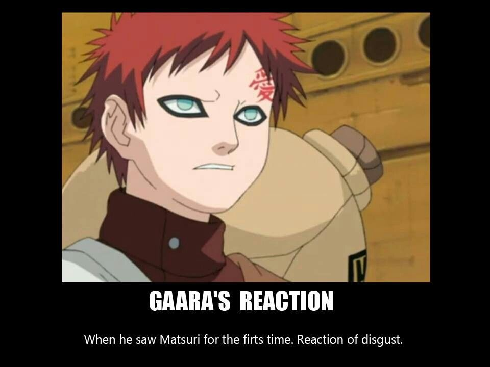 Matsuri And Gaara