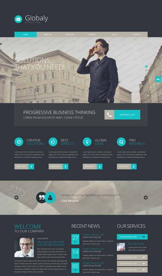 Free wordpress business theme wordpress theme pinterest wordpress free wordpress business theme friedricerecipe Choice Image