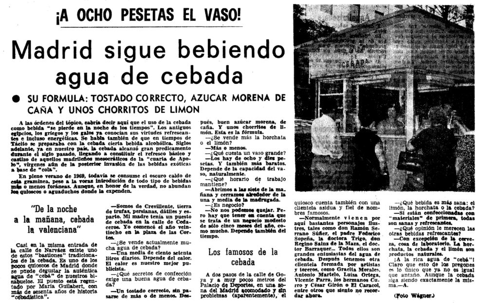 Diario Madrid - 30 Julio 1969