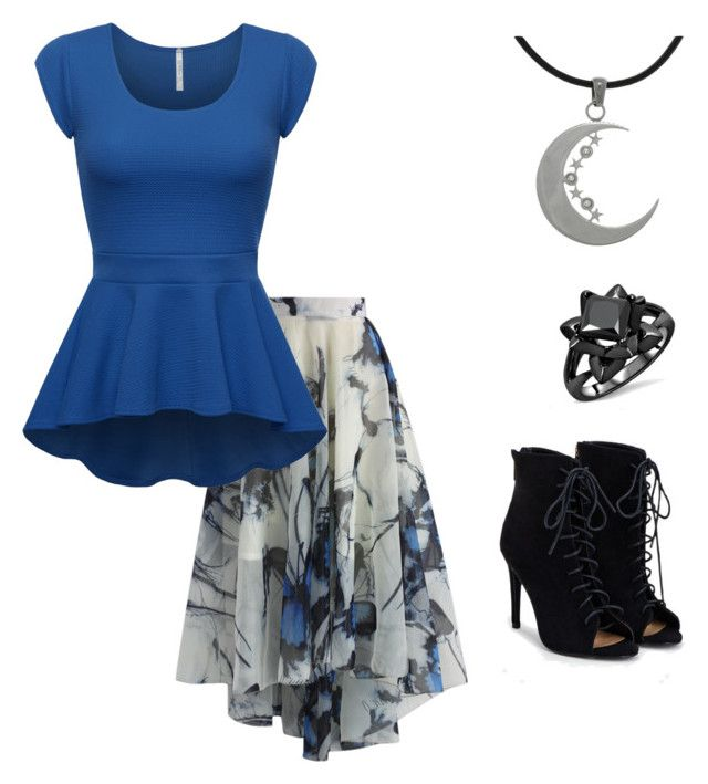 """""""Untitled #96"""" by allisonalbright on Polyvore featuring Chicwish, Carolina Glamour Collection and JustFab"""