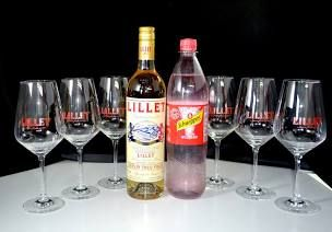 Lillet Wild Berry #cocktaildrinks