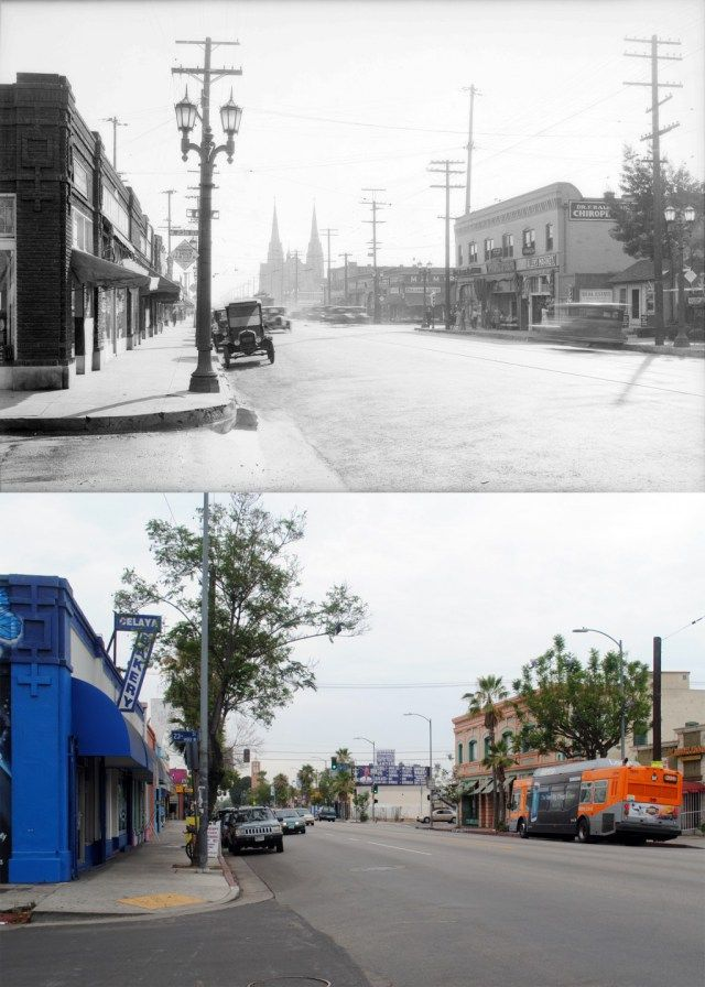 Pin On Los Angeles Then Now