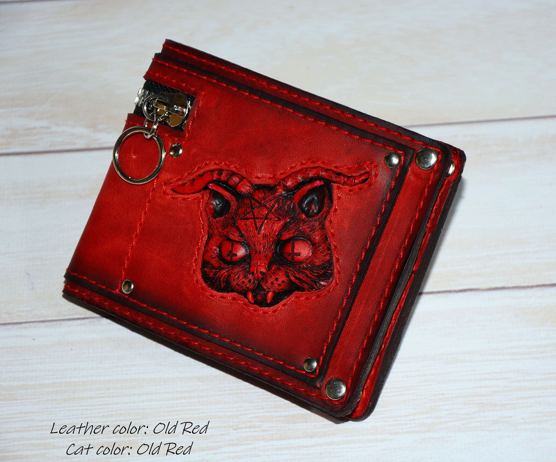 How 2 Kill A Zombie Tri-Fold Wallet w// Button Pocket