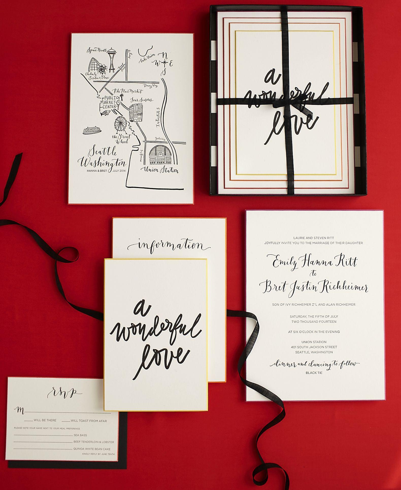 Hanna + Bret - la Happy Calligraphy & Custom Paper Goods ...