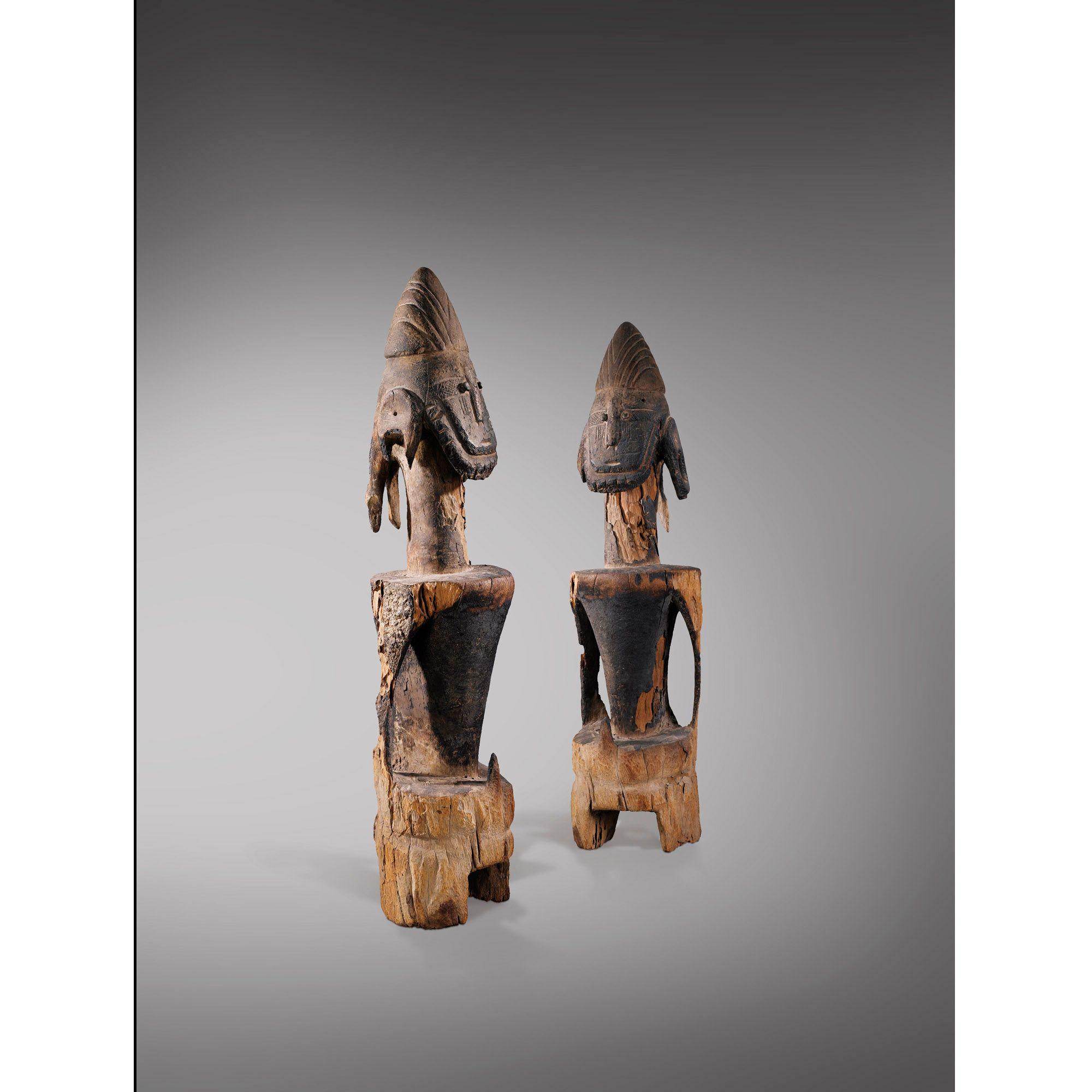 Puissante statue, Jukun, Nigeria | lot | Sotheby's