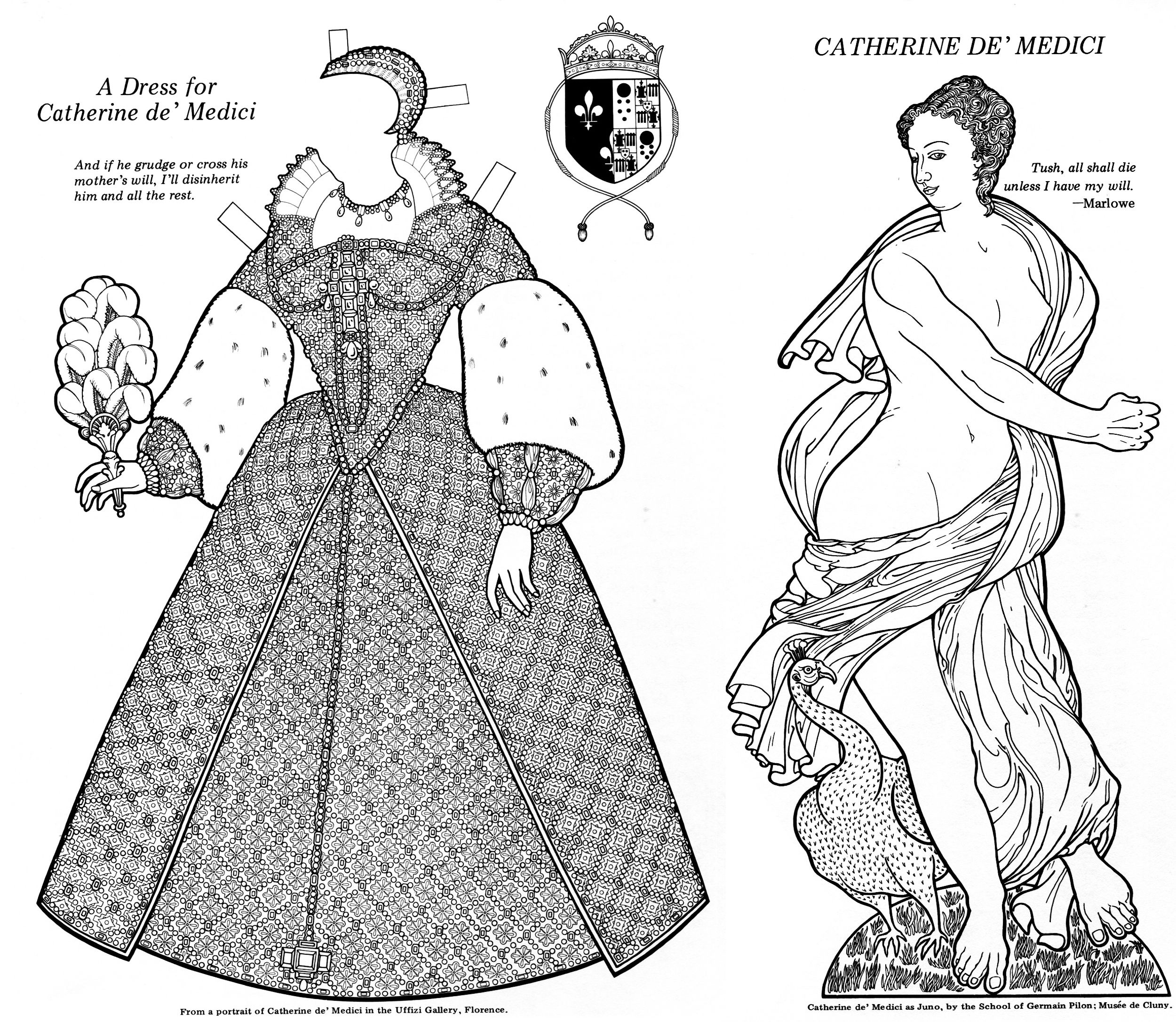 Infamous Women Paper Dolls Bellerophon Books 1997 Page 31 And 33 Of 48 Even Number Pages Contain A Biograph Paper Dolls Paper Fashion Abc Coloring Pages