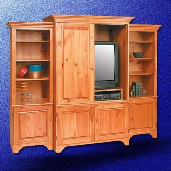 Tv Stands Unfinished Pine Entertainment Center Solid Natural