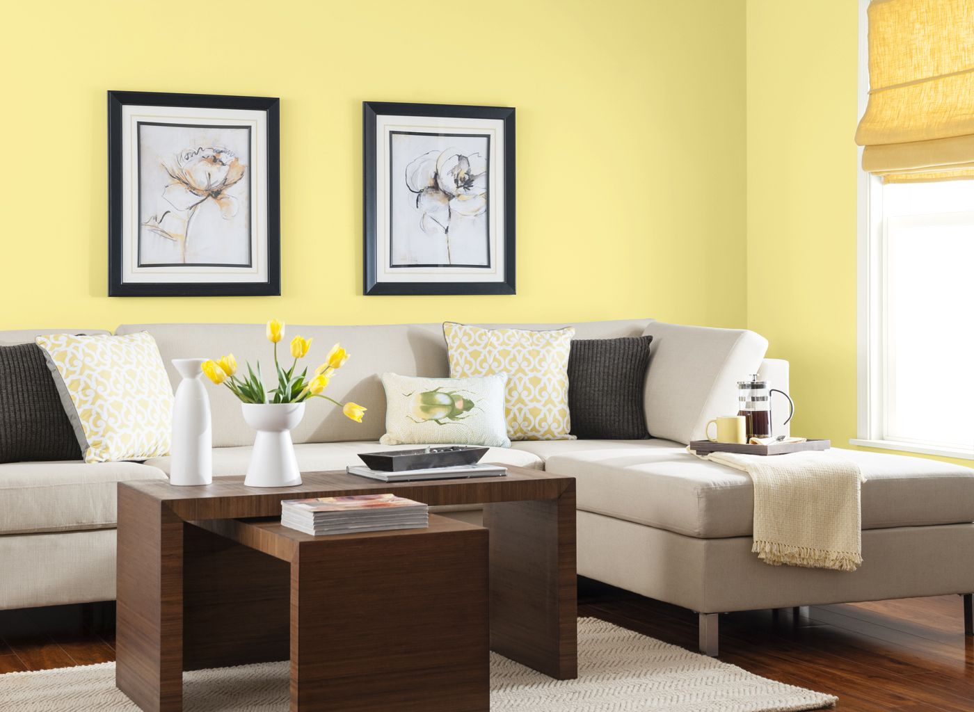 Living Room In Buttercup