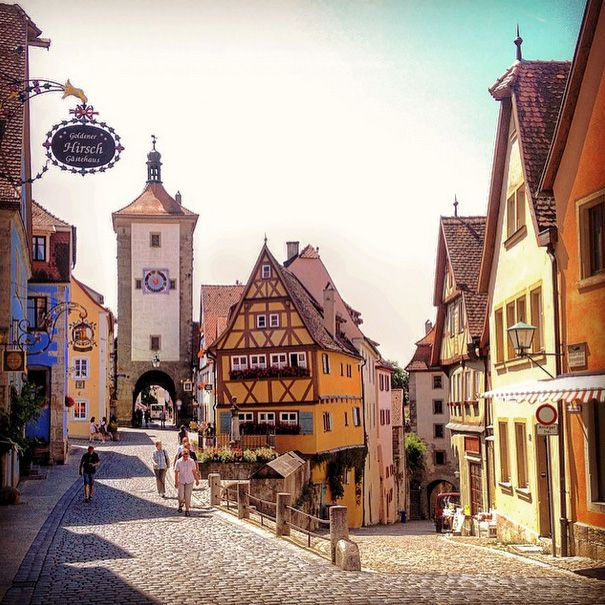 I Want To Visit Germany In German: While The Big Cities Of Germany Might Be Popular, It's The